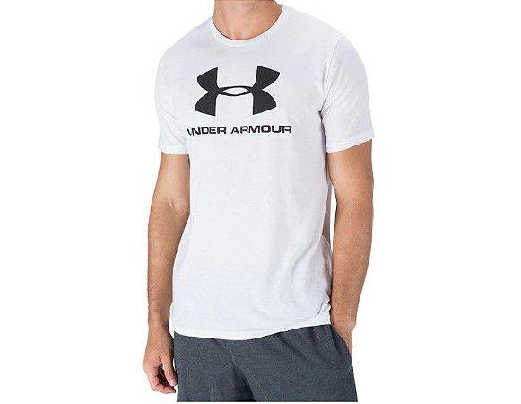 Camiseta Under Armour SS Logo Ubmst96802 Whtblk