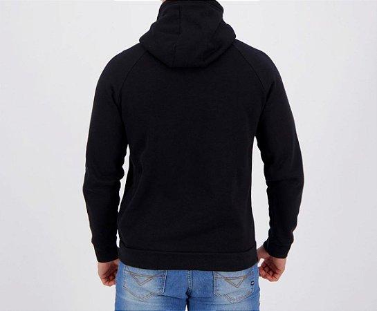 Blusa Under Armour Moletom Rival Fleece 1363706-001 BK/Whw