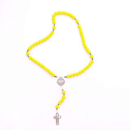 Terço Acampamento Sagrado Coração de Jesus Amarelo