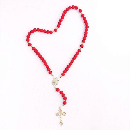 Terço Acampamento Cruz Sagrada Vermelho