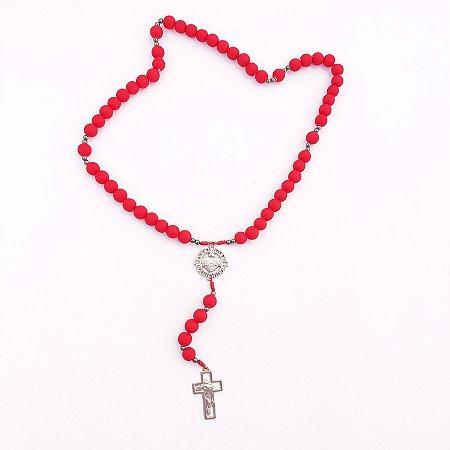 Terço Acampamento Sagrado Coração de Jesus Vermelho