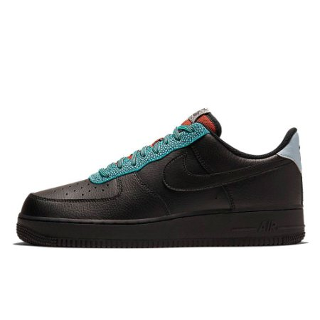 NIKE Air Force 1 07 LV8 4 Black Obsidian Mist