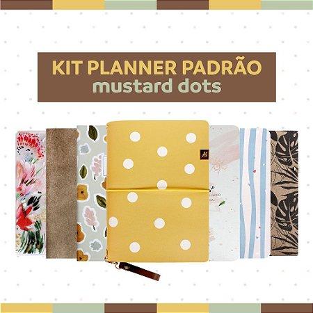 Kit Planner Padrão Mustard Dots