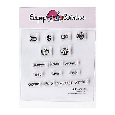 Kit de Carimbos Financeiro - Lilipop
