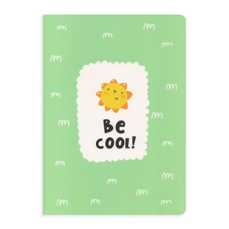 Caderno Brochura Be Cool Sol Verde