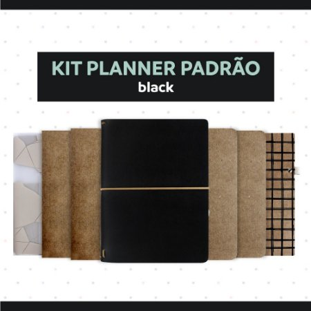 Kit Planner Padrão Black 2