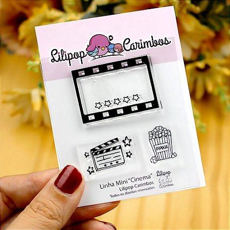 Kit de Carimbos Mini Cinema - Lilipop