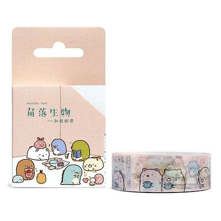 Fita Decorativa Washi Tape - Sumikko Gurashi Quarto