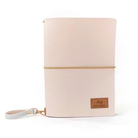 Capa Pink Plum (Para 4 Blocos) Para Planner Padrão A.Craft