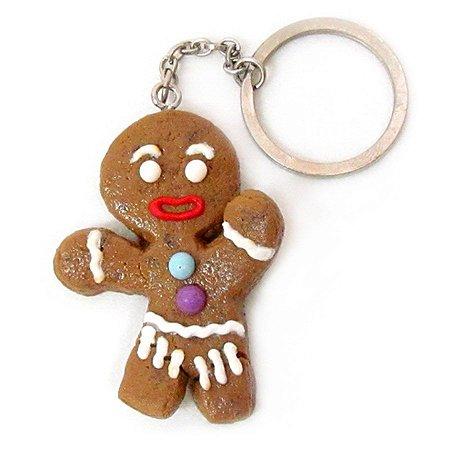Chaveiro - Gingerbread Man G