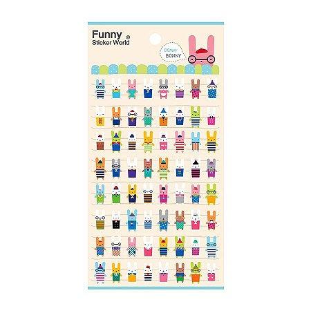 Adesivo Divertido Puffy - Bonny Bonny