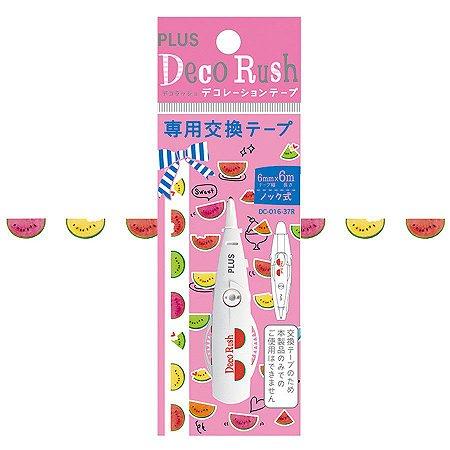 Refil - Fita Decorativa Deco Rush - Melancia - Plus Japan