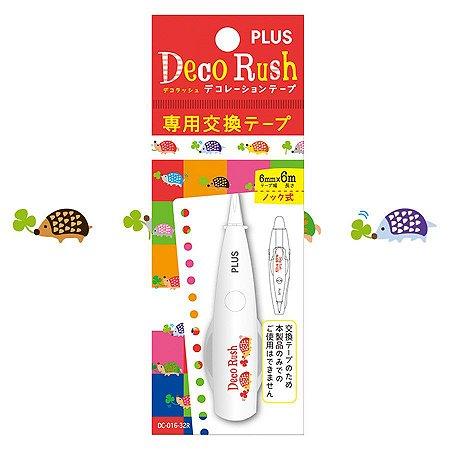 Refil - Fita Decorativa Deco Rush - Porco Espinho - Plus Japan