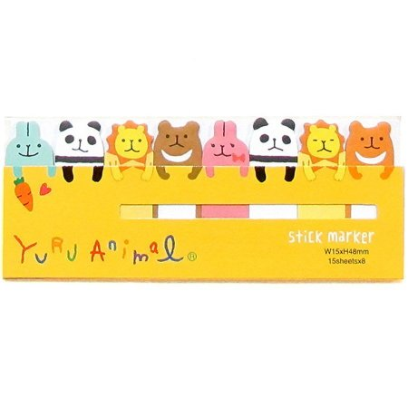 Post-it Stick Marker Yuru Animal - Amarelo