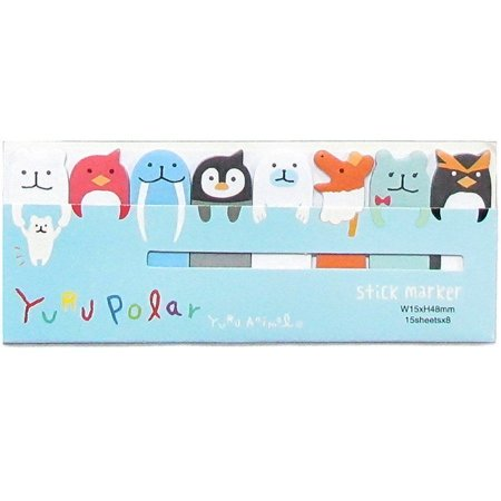 Post-it Stick Marker Yuru Polar - Azul Claro