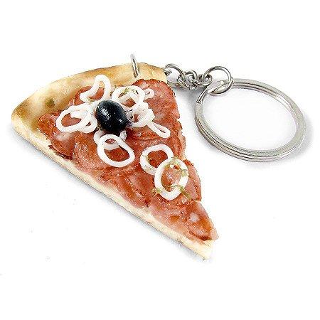 Chaveiro - Pizza de Calabresa