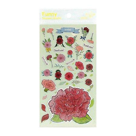 Adesivo Divertido Papel - Blossom