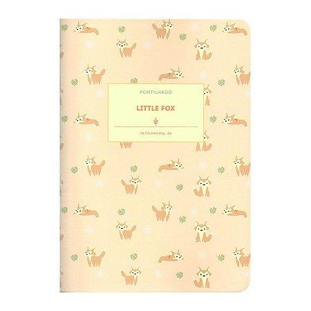Caderno Brochura Pontilhado Little Fox