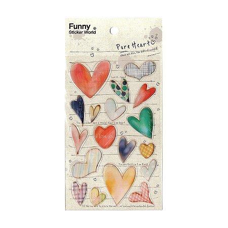 Adesivo Divertido Epoxy - Pure Heart
