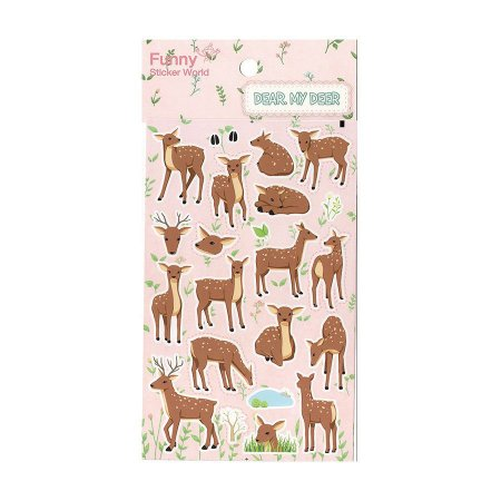 Adesivo Divertido Papel - Dear, My Deer