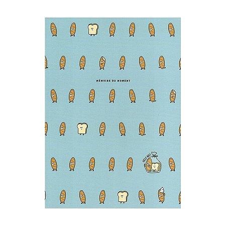 Caderno Brochura Mémoire Du Moment Pão Azul - Artbox