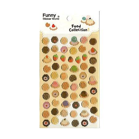 Adesivo Divertido Epoxy - Food Collection 1