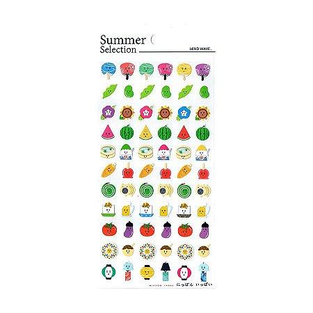 Adesivo Divertido Papel - Summer Selection Nippon Ippai