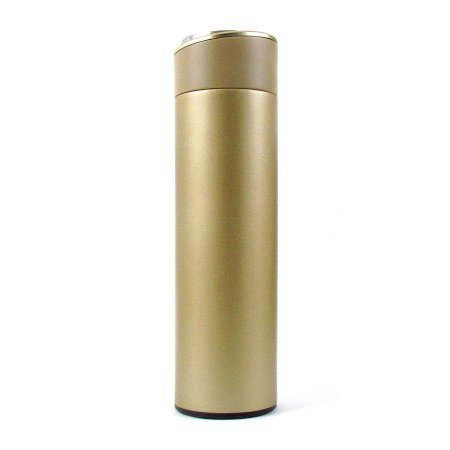 Garrafa Térmica Lisa 500ml Dourado