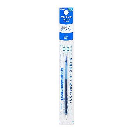 Refil Caneta Gel 0.5 Sliccies Iplus i+ Pentel - Blue Azul