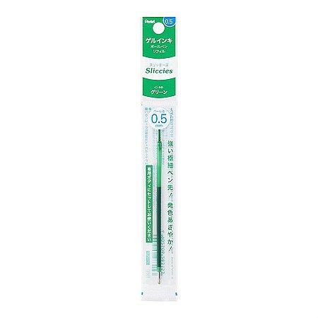 Refil Caneta Gel 0.5 Sliccies Iplus Pentel - Green Verde