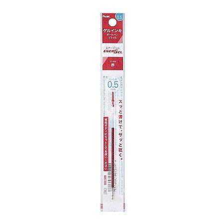 Refil Caneta Gel 0.5 EnerGel Iplus i+ Pentel - Vermelho