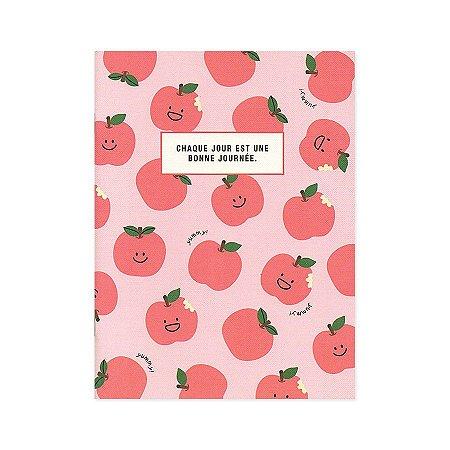 Caderno Brochura Chaque Jour Est Une... Maça Rosa M - Artbox