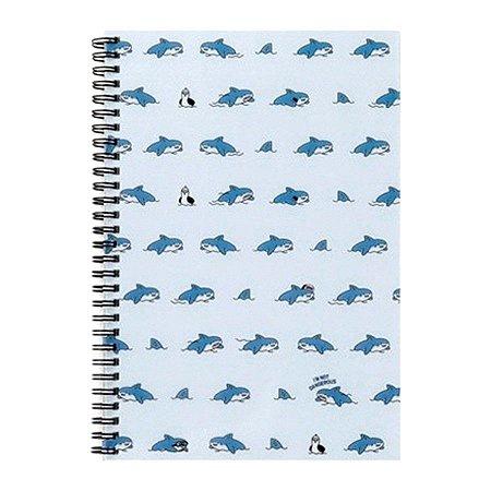 Caderno Espiral I'm Not Dangerous Tubarão Boss Galapagos Friends - Artbox