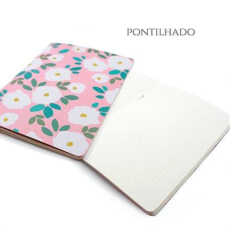 Caderno Pontilhado Daisy Para Planner A.Craft Tamanho Padrão