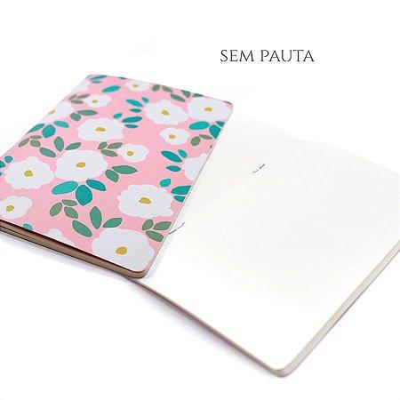 Caderno Sem Pauta Daisy Para Planner A.Craft Tamanho Padrão