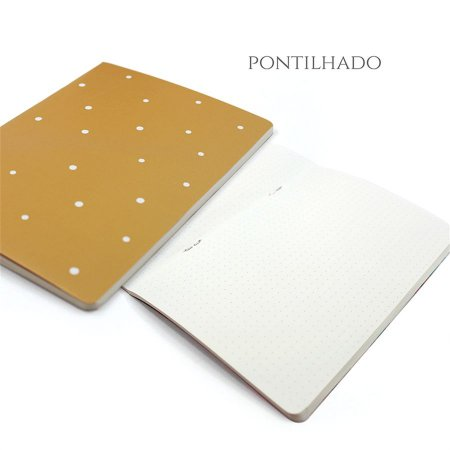 Caderno Pontilhado Honey Para Planner A.Craft Tamanho Padrão