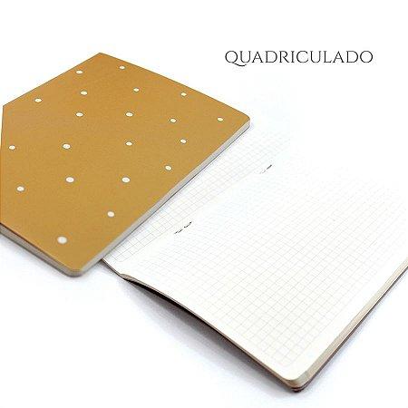 Caderno Quadriculado Honey Para Planner A.Craft Tamanho Padrão