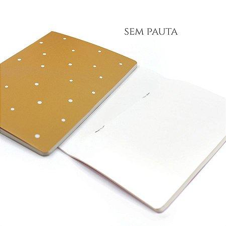 Caderno Sem Pauta Honey Para Planner A.Craft Tamanho Padrão