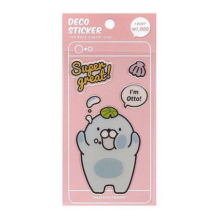 Adesivo Para Celular e Notebook Epoxy Deco Sticker Otto - Artbox