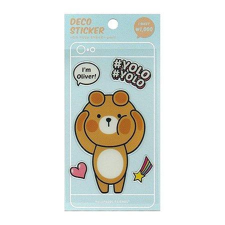 Adesivo Para Celular e Notebook Epoxy Deco Sticker Oliver - Artbox
