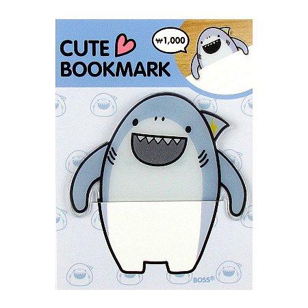 Marca Páginas cute Bookmark Tubarão Boss Galapagos Friends - Artbox
