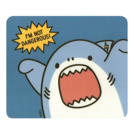 Mouse Pad (3T) Boss Galapagos Friends I'm Not Dangerous Azul - Artbox