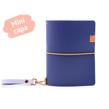 Mini Capa Blueberry (Para 4 Mini Blocos) Para Mini Planner A.Craft