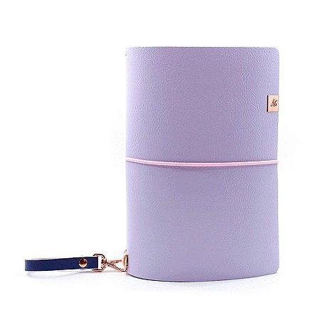 Capa Grape Ice Cream Roxo (Para 4 Blocos) Para Planner A.Craft Tamanho Padrão