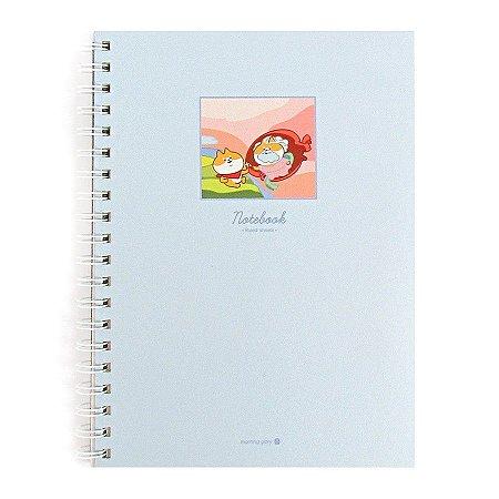 Caderno Espiral Capa Dura Notebook a Criação de Adão - Morning Glory