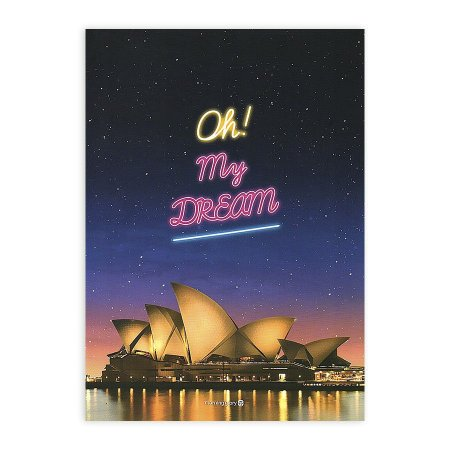 Caderno Brochura Oh My Dream Opera House Sydney Australia - Morning Glory