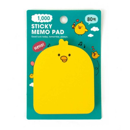 Post-it Sticky Memo Pad Galapagos Friends Iren - Artbox