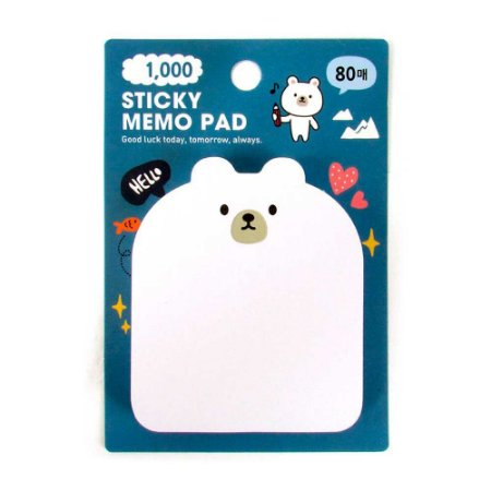 Post-it Sticky Memo Pad Galapagos Urso Polar - Artbox