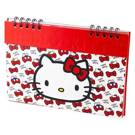 Planner Semanal Não Datado Hello Kitty Red Laces Vermelho