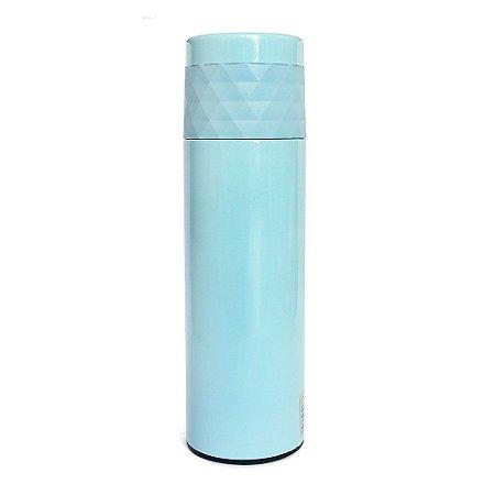Garrafa Térmica Inox 480ml Diamante Azul